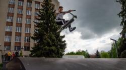 В Житомирі нарешті відкрили Скейт парк