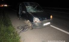 У Новоград-Волинському районі у результаті ДТП загинув велосипедист