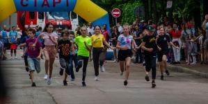 """Як проходила у Житомирі естафета """"Біжу з поліцією"""" (ФОТО)"""