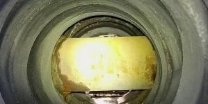 У трубі каналізаційних стоків на Покровській виявили… трубу «Житомиргазу»