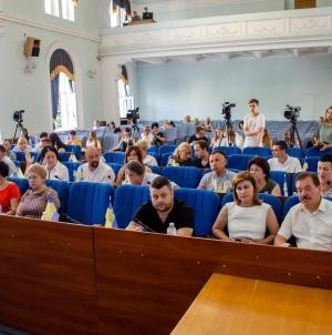 Як проходила позачергова сесія Житомирської міської ради (ФОТО)