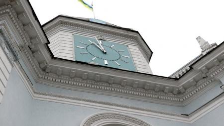 На будівлі Житомирської міськради знову не працюватиме годинник