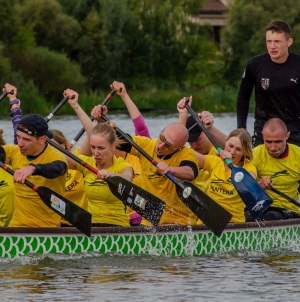 У змаганні з веслування на човнах у Житомирі взяли участь 400 учасників (ФОТО)