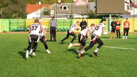 У Житомирі пройшов чемпіонат з американського футболу (ФОТО)
