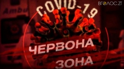 Від суботи 30 жовтня Житомир у червоній зоні